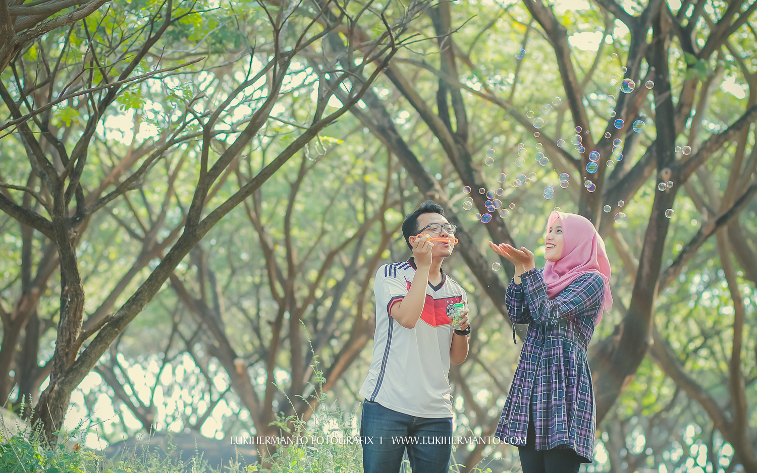 foto prewed muslim hijab simple